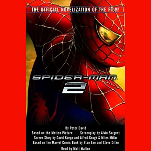 Spider-Man 2 audiobook cover art