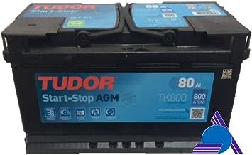 BATERIA START STOP AGM TUDOR TK800 - 80AH - 800A