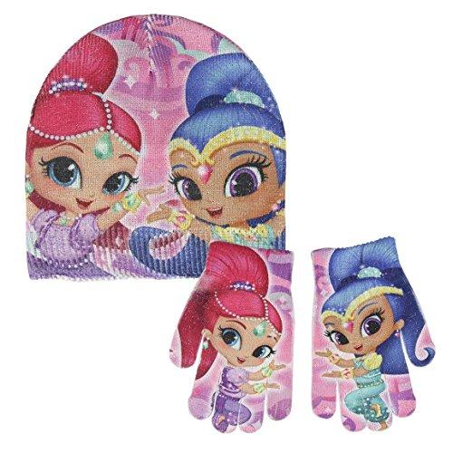 Cerdá 2200002462 Mütze, Schal & Handschuh-Set, Niños, Pink (Rosa 001), One size (Herstellergröße: Única)