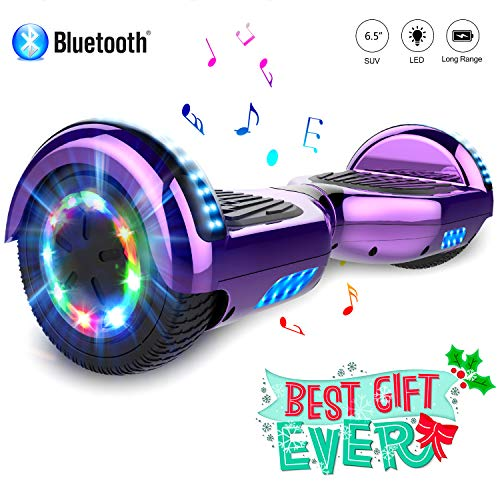 """COLORWAY Hoverboard 6.5"""" con LED, Bluetooth"""