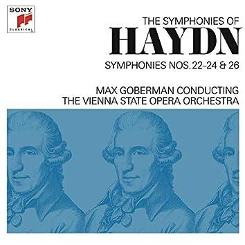 Haydn: Symphonies Nos. 22-24 & 26