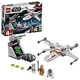 LEGO Star Wars Chasseur stellaire X-Wing de la tranchée Jeu 4 Ans et Plus, 132...