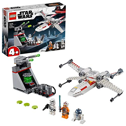 LEGO 75235 Star Wars X-Wing Starfighter Trench Run Battlefront Games Set Collection with Luke Skywalkerm R2-D2 and Stormtrooper