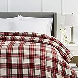 Best Flannel Duvets - Amazon Brand – Pinzon Plaid Flannel Duvet Cover Review