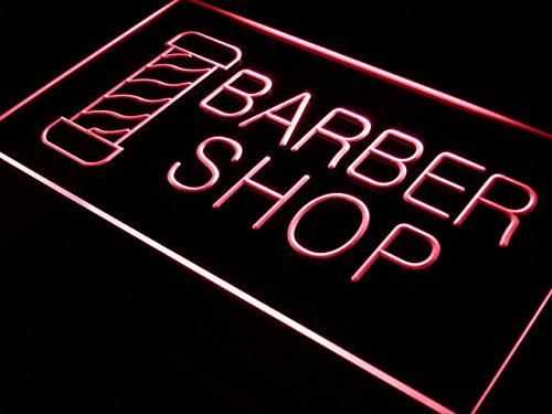 ADV PRO Enseigne Lumineuse i005-r Open New Barber Shop Hair Cut Neon Light Signs