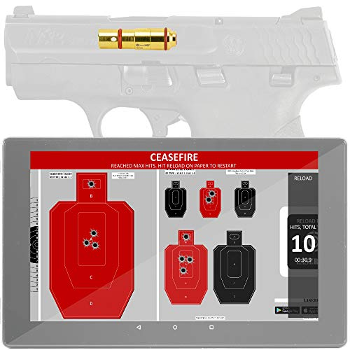 LaserHIT Dry Fire Training Kit (9mm/GEN Tablet, Fire)