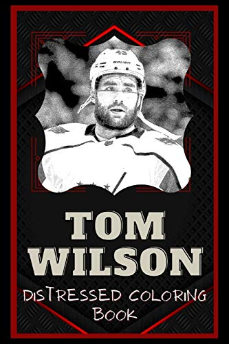 Tom Wilson Distressed Coloring Book: Artistic Adult Coloring Book