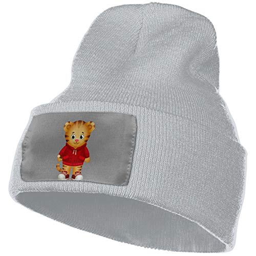Pcaocmro Daniel Tiger's Neighborhood Soft Elastic Hat Warm Knitted Hat Beanie Hat Unisex Casual Hat