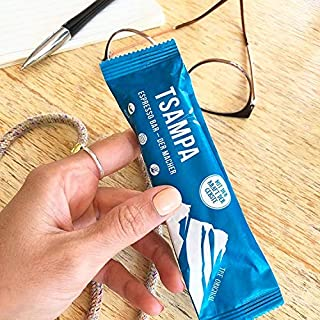 TSAMPA Espresso Bar - ESPRESSO BOX - Bio Energieriegel aus gerösteter Gerste mit Espressobohnen - vegan 20er Box 20 Stücke à 40 g