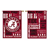 Team Sports America U of Alabama Fan Rules Garden Flag - 13 x 18 Inches