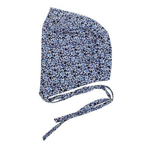LLLucky bébé Floral Vintage Chapeau Nouveau-né Photographie Double Face Sangle en Lin Bonnet garçons Filles Accessoires Cap Campagne Costume Enfants Bonnet 7 Styles