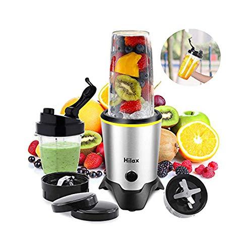 Blenders for Making Smoothies Shakes - 1000W High-Speed Professional Personal Blender,Fruit Juice Mixer High Speed Blender, 2-Set Blades,35oz and 14oz Portable Travel Blender Bottles,BPA Free