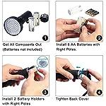 UV Flashlight, HD HARUDONE UV Light 100 LEDs Pet Dog Cat Urine Stains Scorpion Bed Bug Detector Light 395 nm Ultraviolet Black Lights Inspection 10