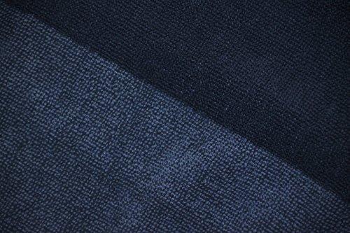 TELO MARE o PISCINA TOMMY HILFIGER 100% SPUGNA CINIGLIATA di PURO COTONE cm 90 x 180 (DENIM - BLUE)