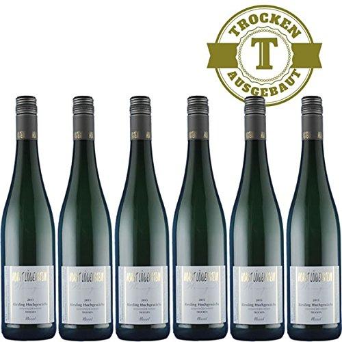 Weißwein Weingut Horst Löwenstein Winninger Hamm Qualitätswein Riesling Hochgewächs 2017 trocken (6 x 0,75 l)