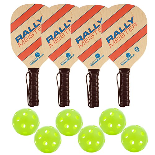 Rally Meister Wood Pickleball Paddle