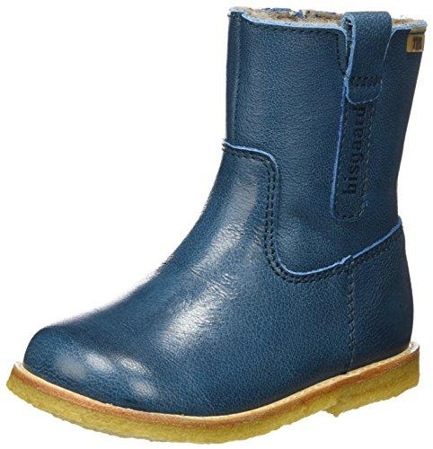 Bisgaard Unisex-Kinder Stiefel, Grün (1003-1 Petrolio), 25 EU