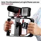 ULANZI U-rig Pro Smartphone vidéo Rig Handheld iPhone Filmmaking Cage avec 3 Sabot...