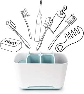 Easy-Store Toothbrush Caddy - Large - Easy-Store Toothbrush Caddy