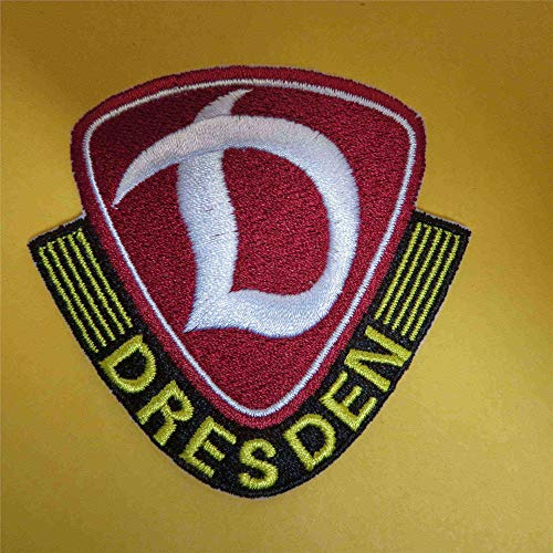 2stk Dynamo3 Dresden1 Aufnäher Patch Football Fussball Soccer Club Iron on bügelbild aufbügler Badge