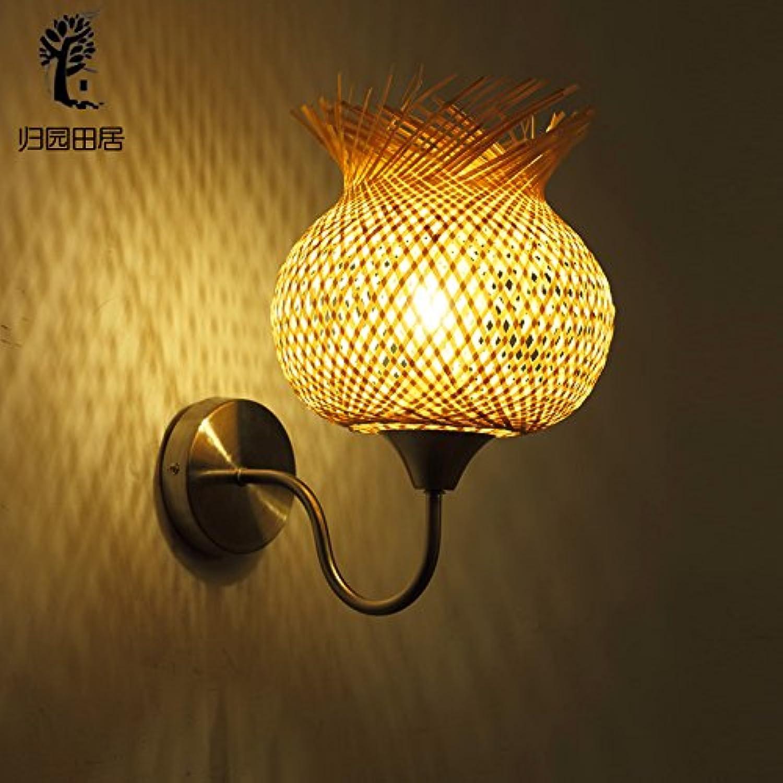 StiefelU LED Wandleuchte nach oben und unten Wandleuchten Japanische Kosmetiksalon Schlafzimmer Bett Flure Treppenhuser in der Landschaft Blaumen Bambus wand Lampen, Lampe cover-up