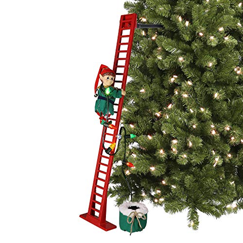 Mr. Christmas 40' Super Climbing Elf, inch, Red