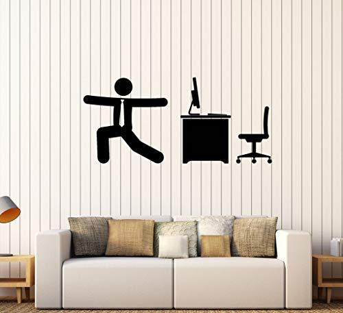 stickers muraux design Warm-Up Gymnastics Sports pour le bureau