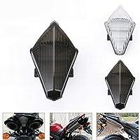 AKDSteel YAMAHA YZF R1 07-08用オートバイLEDウインカーランプリアポジションランプ ブラック