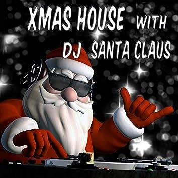 Xmas House with Santa Claus