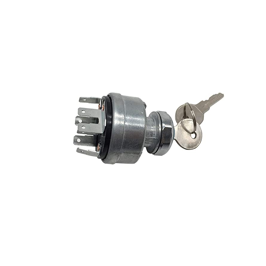 Ignition Switch with 2 Keys 282775A1 A134737 D134737 for Case IH/International Harvester AR58126 for John Deere