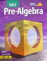 Pre-Algebra 003038687X Book Cover