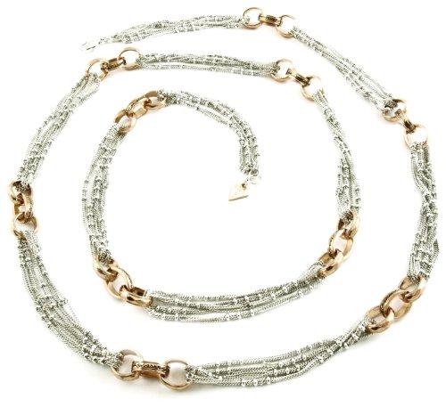 Guess Damen-Halskette Edelstahl UBN81048