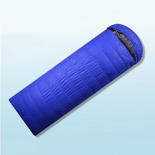 HETAO Créatif Sac de couchage en plein air, sac de couchage Four Seasons Super léger portable plume d'oie en plein air vers le bas anti-coup adulte par sac de couchage de pause déjeuner intérieur du repos