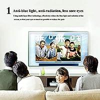 32-55インチ 抗ブルーライトスクリーンプロテクター、アンチグレアリリーフ RelieveEye疲労感 ウルトラクリア アンチグレアフィルムは LCD、LED、OLED、QLED 4KHDTV用 (Color : Clear, Size : 49 inch-1075x604mm)