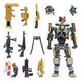 Fortnite- Llama de Suministro, Incluye una Figura de Kit Altamente Detallada y articulada de 4 Pulgadas, 9 Armas, 4 Back Bling. Más Trajes Que se Caen Pronto, Multicolor (Jazwares FNT0796)