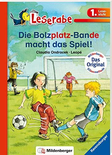 Die Bolzplatzbande macht das Spiel - Leserabe 1. Klasse - Erstlesebuch für Kinder ab 6 Jahren (Leserabe mit Mildenberger Silbenmethode)