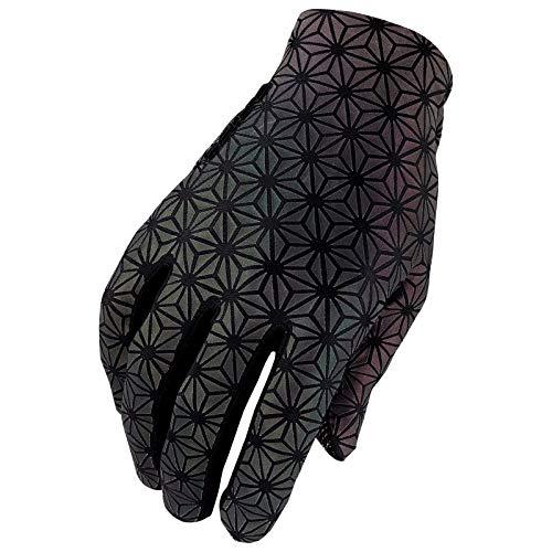 Supacaz SUPAG Long Glove-Oil Slick-S, Unisex Adulto, Multibrillo, Estandar