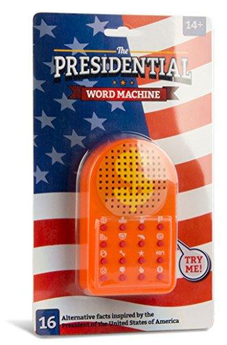 ZOFOX The Presidential Word Machine | Sound-Machine mit 16 Sprüchen | Scherzartikel für Büro und Party | Inspiriert vom Präsidenten der USA
