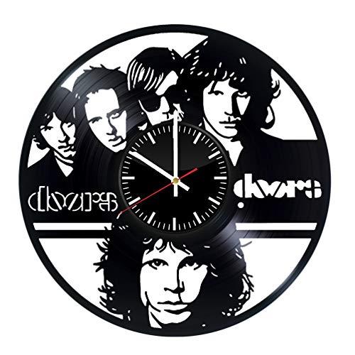 The Doors Vinyl Record Wall Clock Band Art Decor Gifts Shefinds