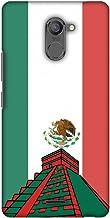 AMZER Slim Designer Snap On Hard Shell Case for Infinix Hot 4 Pro - Chichen Itza- Mexico Flag