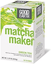 Good Earth Matcha Maker Green Tea, 18 Count Tea Bags (Pack of 6) by Good Earth [Foods]