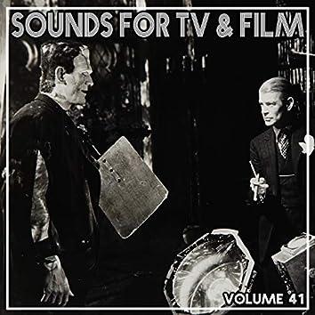 Sounds For TV & Film, Vol. 41