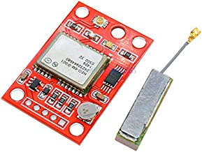 1Set GY-NEO6MV2 NEO-6M GPS Module with Flight Control EEPROM RS232 TTL Large Antenna for Arduino GPS APM2 APM25 NEO6MV2 3-5V