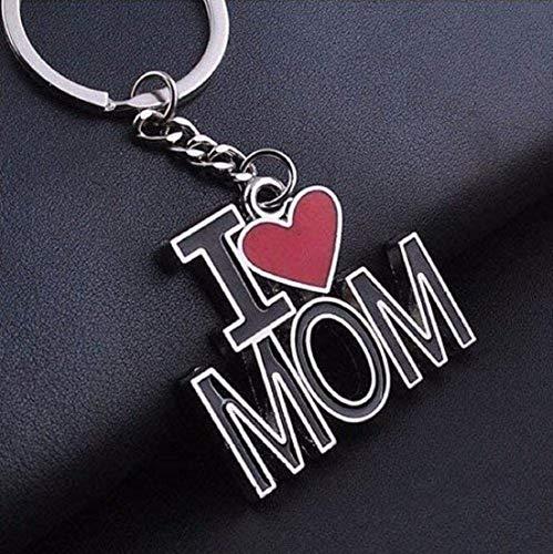 Schlüsselanhänger I Love MOM   Geschenk für Frauen   Damen   Mama   Liebe   Mutter
