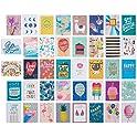 40-Ct American Greetings Premium Kids Deluxe Birthday Card Assortment