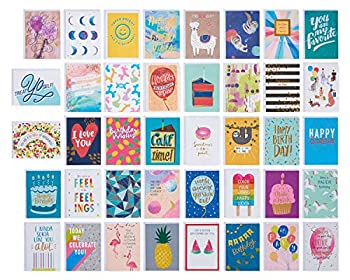 American Greetings Premium Kids Deluxe Birthday Card Assortment 40-Count
