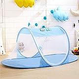 YANSJD Mosquitera para bebé, Ultraligera, portátil, para Cuna Infantil, Cuna Plegable, Cama para Uso doméstico, al Aire Libre, para bebés de 0 a 3 años, fácil instalación