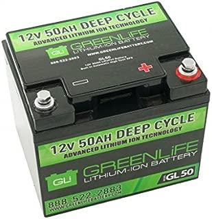 12v lithium ion battery 50ah