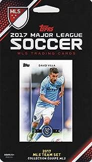 New York City FC 2017 Topps MLS Soccer Factory Sealed 9 Card Team Set with Thomas McNamara and David Villa plus