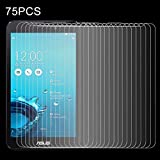 強化ガラスフィルム 75 PCS Asus Fonepad 7 / FE170CG用0.4mm 9H 表面硬度2.5D防爆型強化ガラスフィルム 強化ガラスフィルム